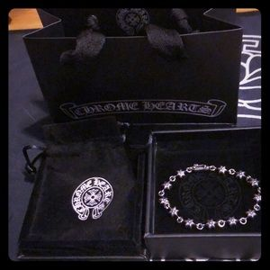 Chrome Hearts silver Sun Star bracelet
